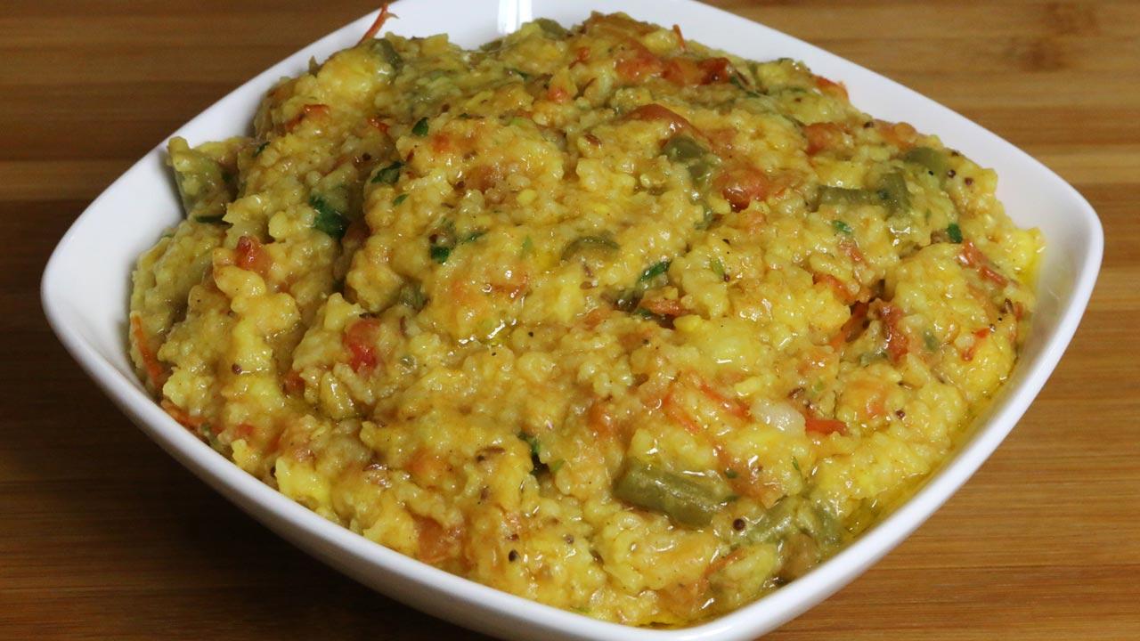 Brown Rice Khichdi