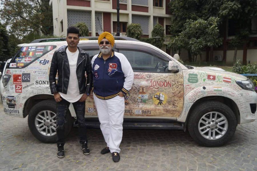 Turban Traveller Amarjeet Singh ने कॉन्स्टीट्यूशन क्लब ऑफ इंडिया में अपनी अतुल्य यात्रा का अनुभव किया साझा