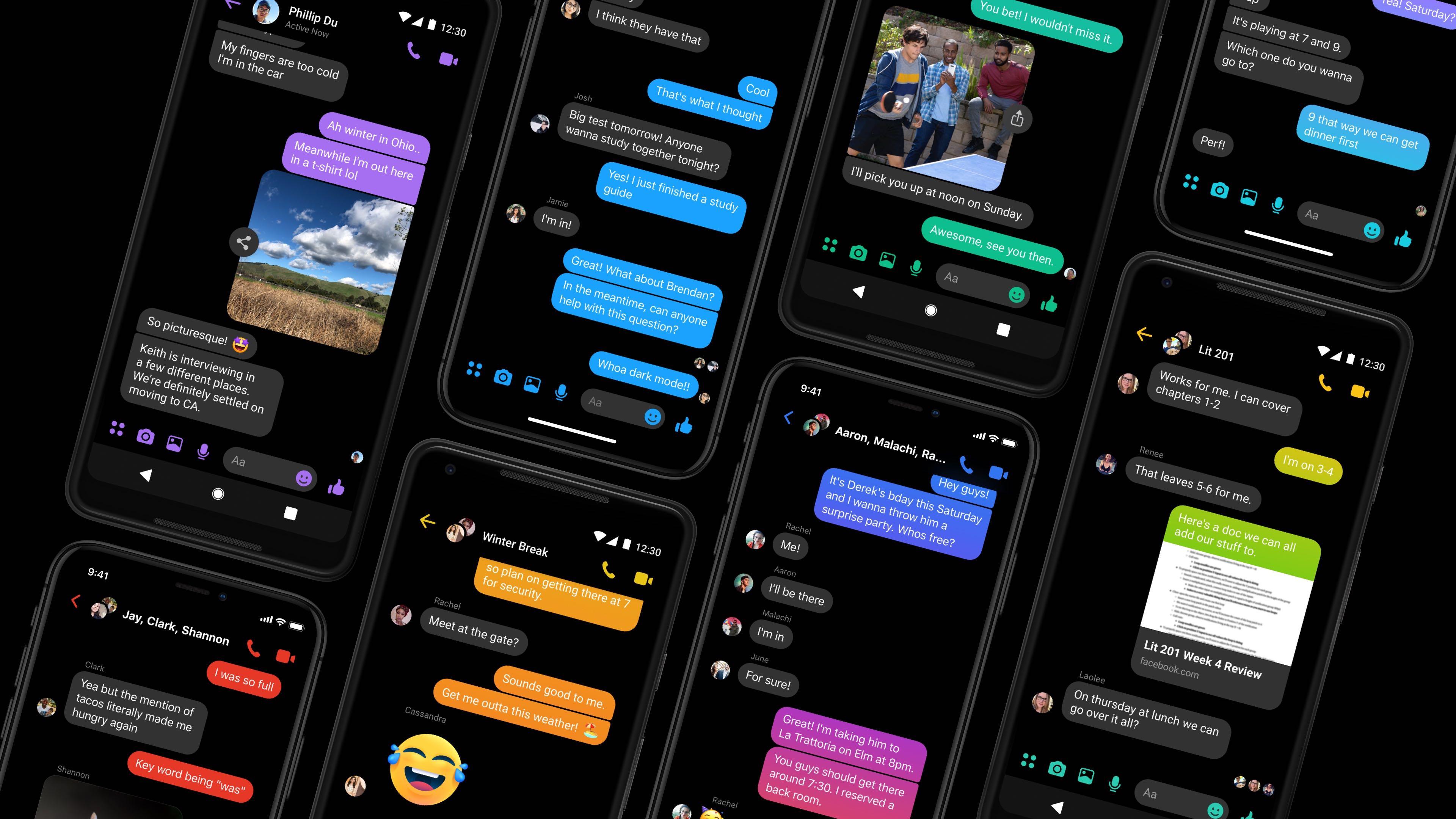 Facebook Messenger Dark Mode Feature