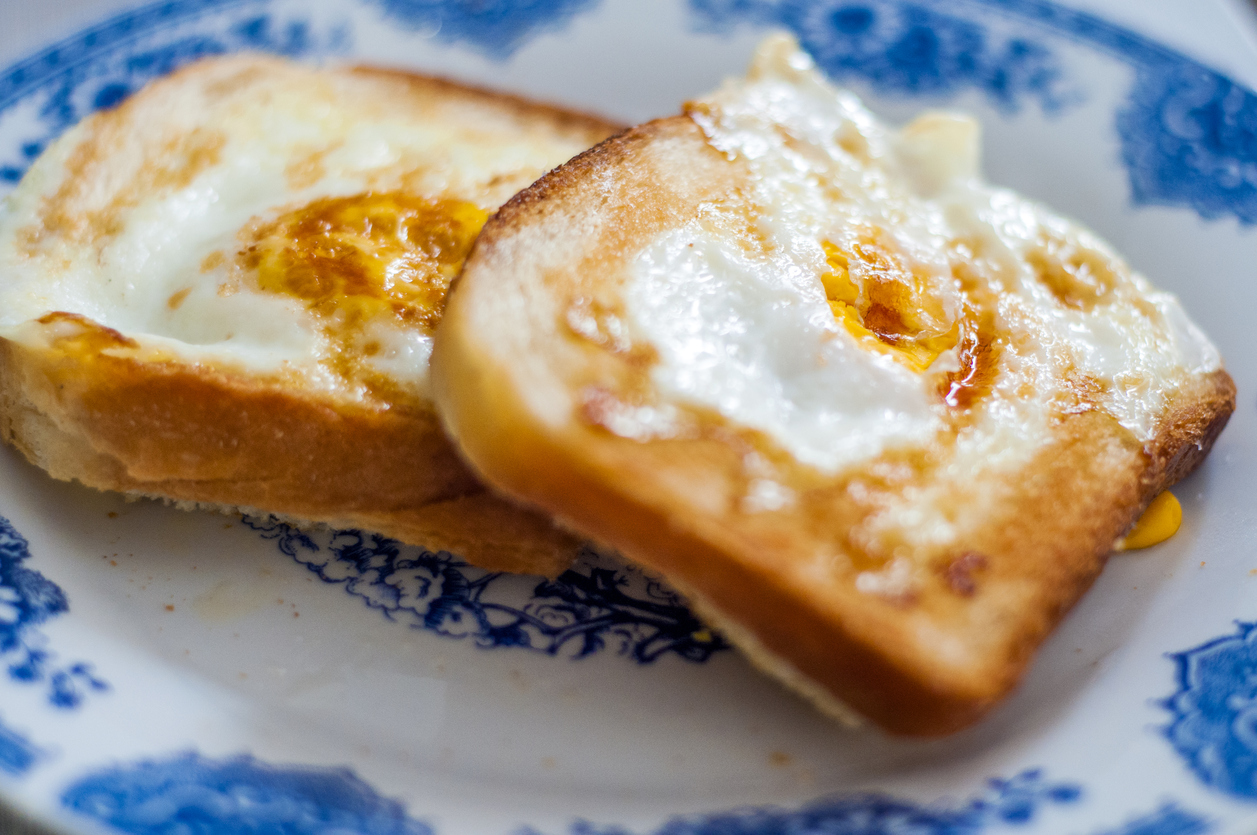Egg Bread Toast