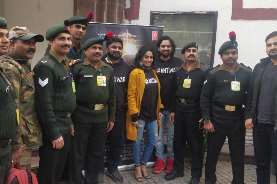 """दिल्ली में सेना दिवस के खास अवसर पर भारतीय सशस्त्र बलों के लिए आयोजित किया फिल्म """"बंकर"""" की विशेष स्क्रीनिंग"""