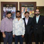 Manasvi : प्रमोशन के लिए दिल्ली पहुंची फिल्म की स्टारकास्ट